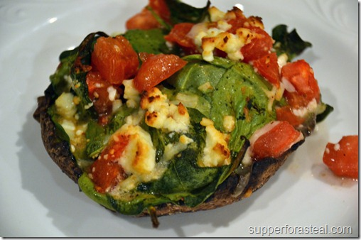 Spinach and Feta Stuffed Mushrooms1