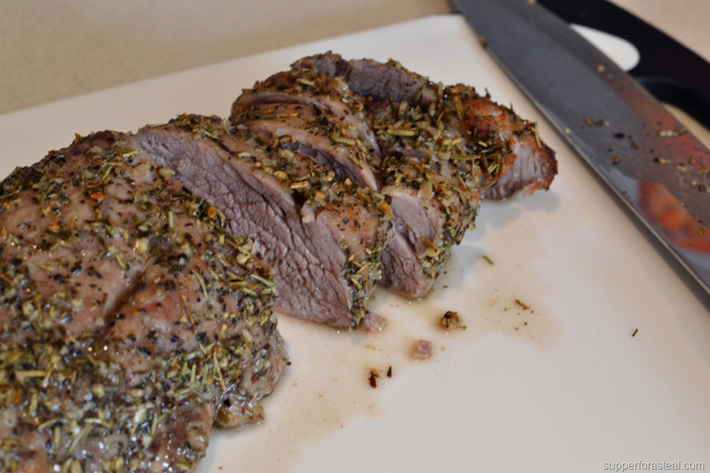 supperforasteal.comHerb Crusted Pork Tenderloin - Supper for a Steal