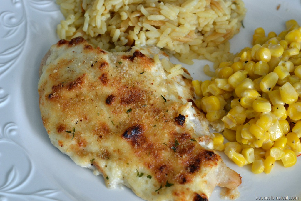 Parmesan Crusted Chicken - Supper for a Steal