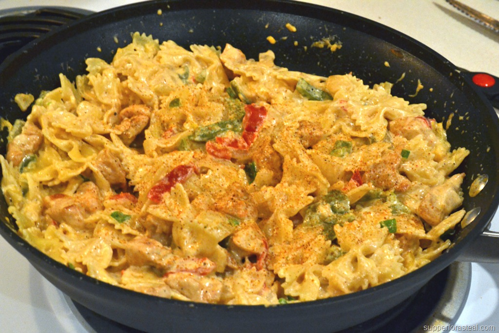 Cajun Chicken Pasta - Supper for a Steal