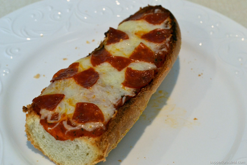 French Bread Pizzas - Supper for a Steal