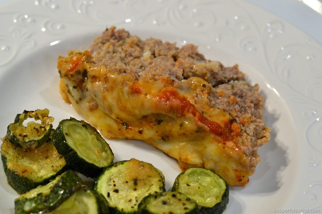 Italian Meatloaf - Supper for a Steal