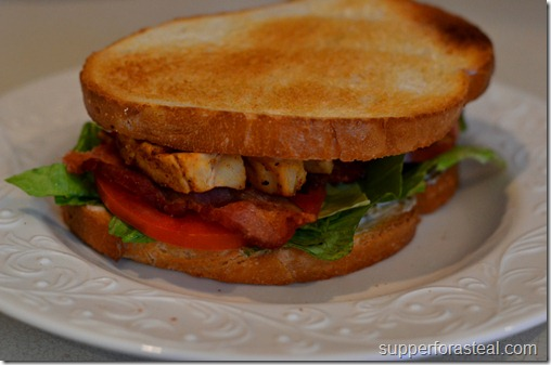 Cajun Chicken Club -- Supper for a Steal