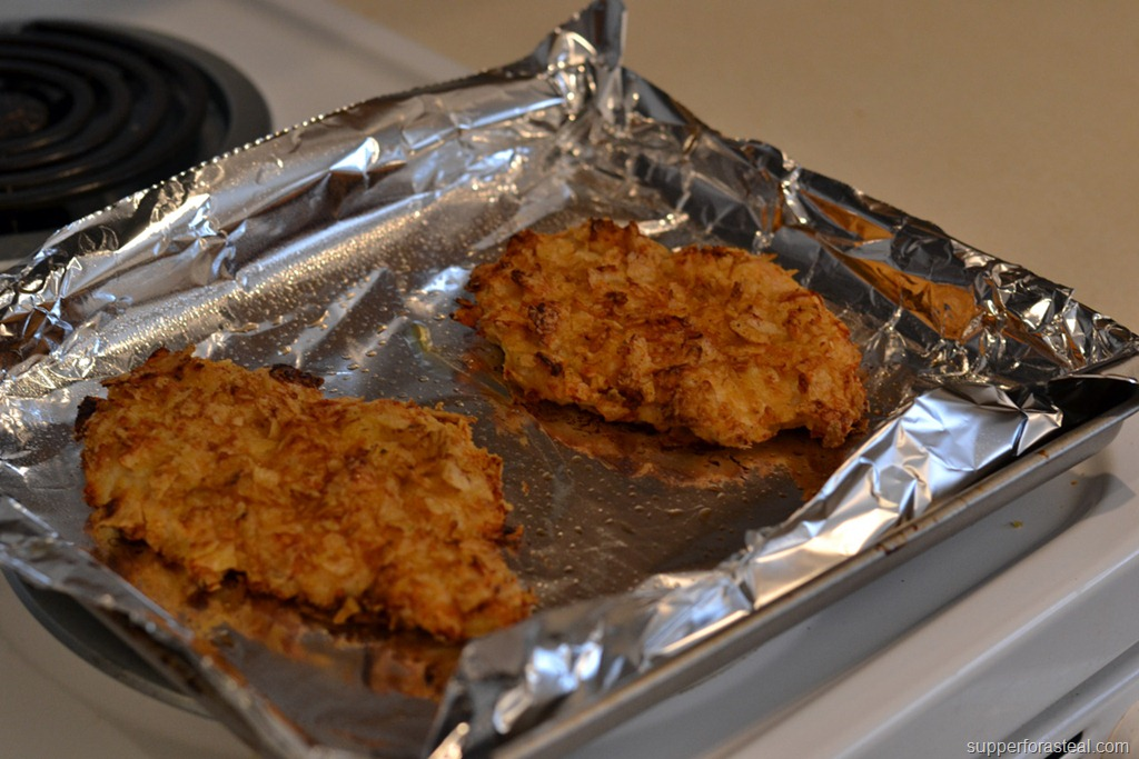 how to make chicken strips crispy in oven