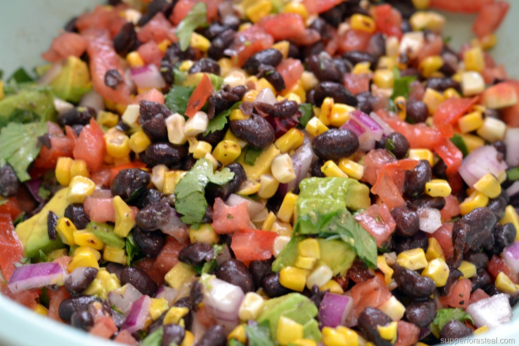 Pics Photos - Mexican Black Bean Corn Salad
