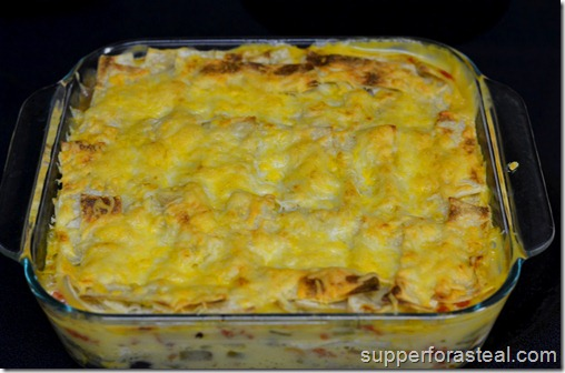 Chicken Tortilla Casserole - Supper for a Steal