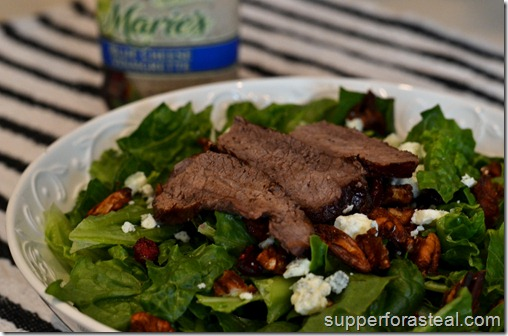 Steak Salad - Supper for a Steal