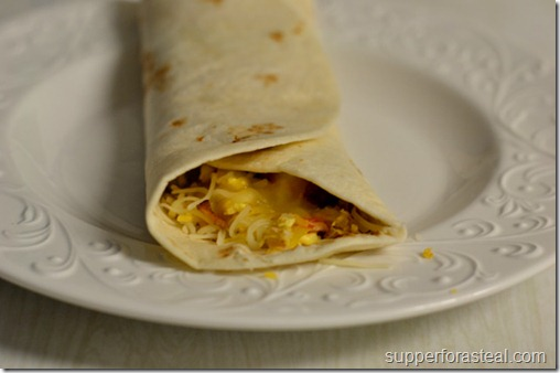 Breakfast Burrito  - Supper for a Steal