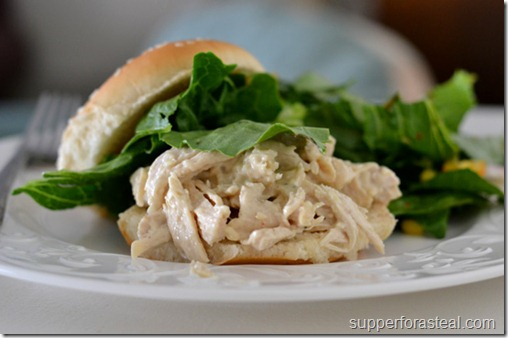 Chicken Caesar Sandwiches - Supper for a Steal