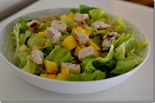 Chicken, Mango, and Toasted Almond - Supper for a Steal