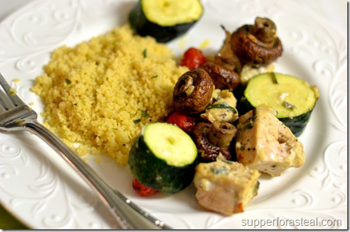 Med Chicken Kabobs - Supper for a Steal