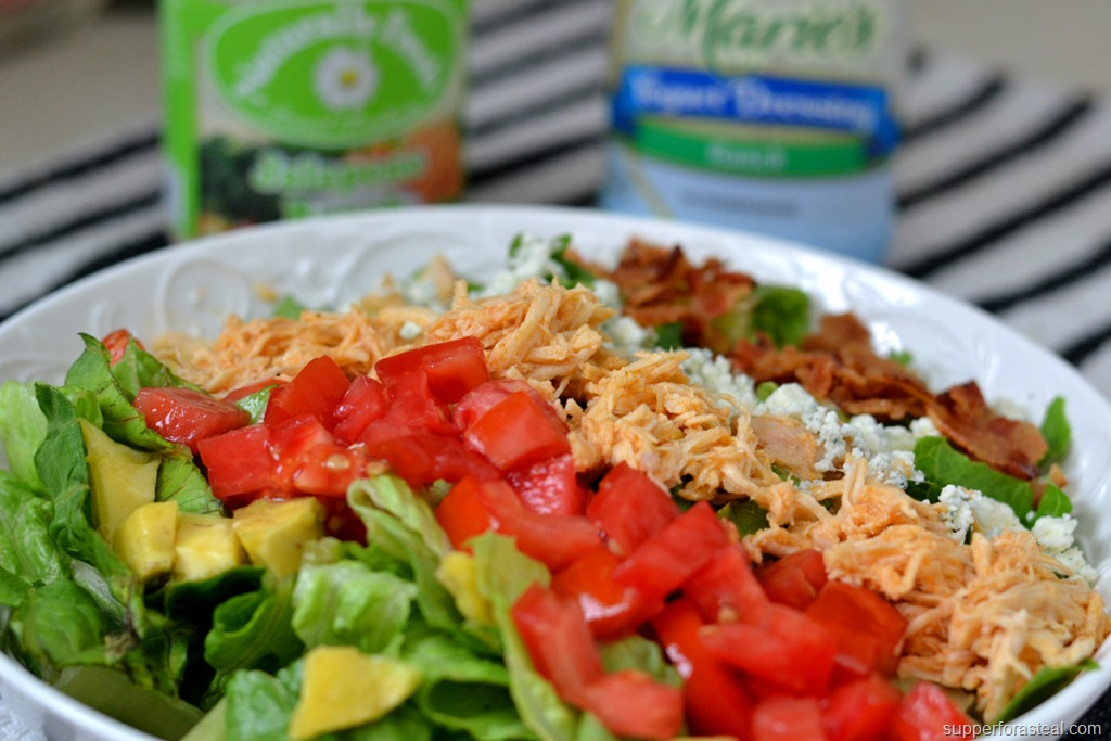 Buffalo Chicken Cobb Salad -- Supper for a Steal