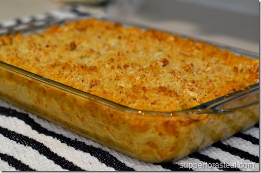 Buffalo Chicken Mac & Cheese - Supper for a Steal