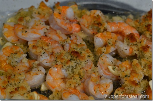 Crispy Garlic Baked Shrimp - Supper for a Steal