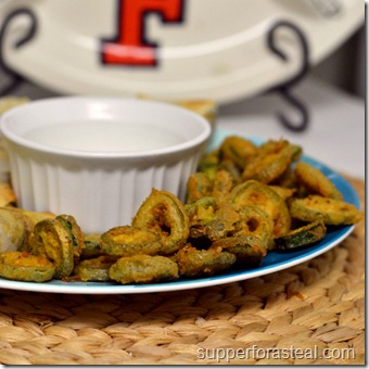 Fried Jalapenos - Supper for a Steal