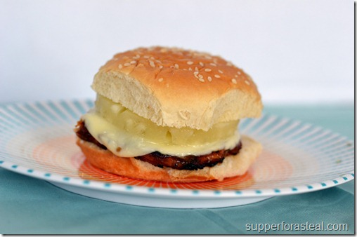 Hawaiian Chicken Sandwiches - Only 5 Ingredients - Supper for a Steal