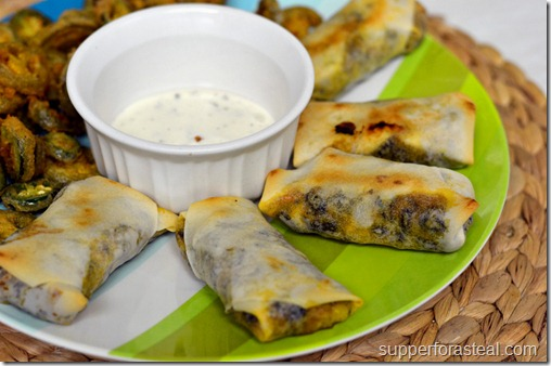 Southwestern Spring Rolls - Supper for a Steal