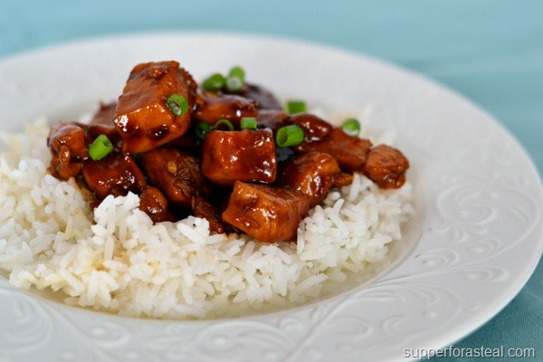 Bourbon Chicken - Supper for a Steal