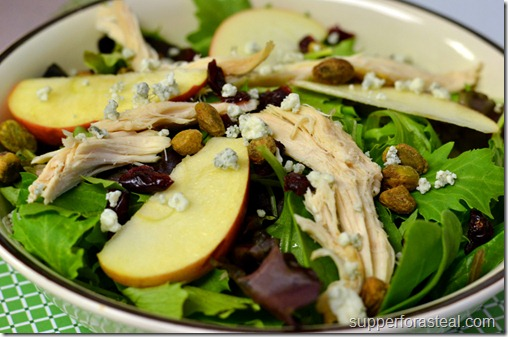Chicken & Apple Salad - Supper for a Steal