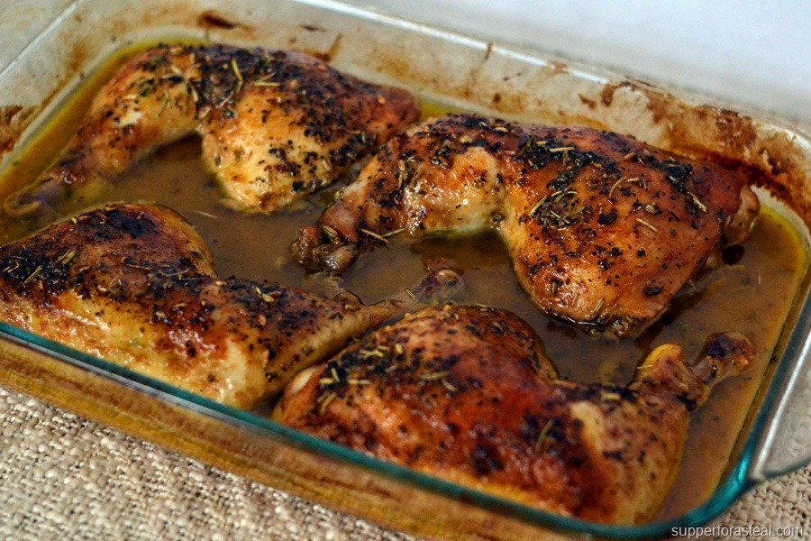 Savory Roasted Chicken Supper For A Steal