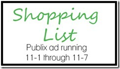 Shopping List button_11-1-12