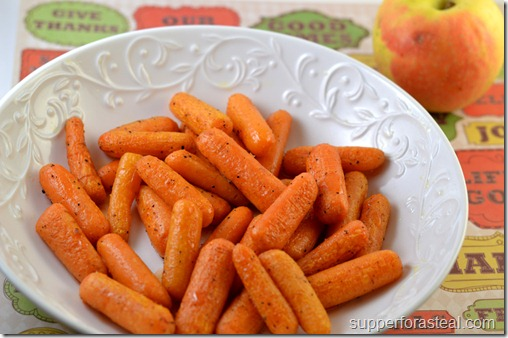 Roasted Carrots with Apple Cider Glaze