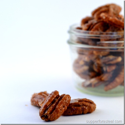 Sweet & Spicy Pecans - Supper for a Steal - C2