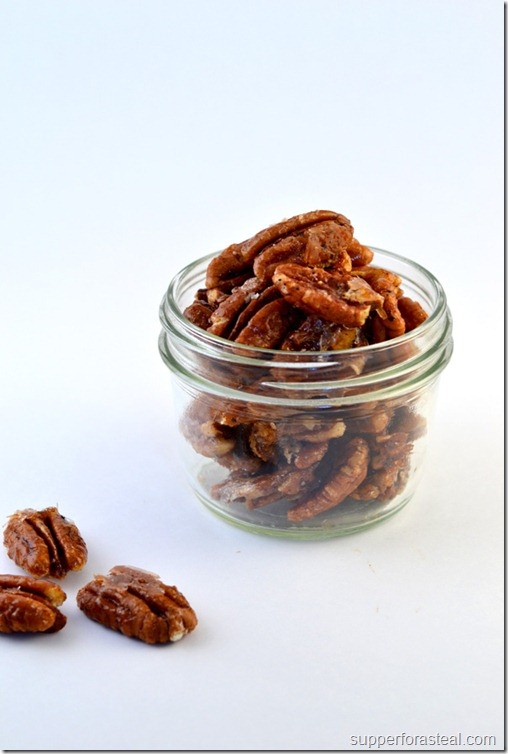 Sweet & Spicy Pecans - Supper for a Steal