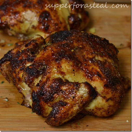 Garam Masala Rubbed Cornish Hen