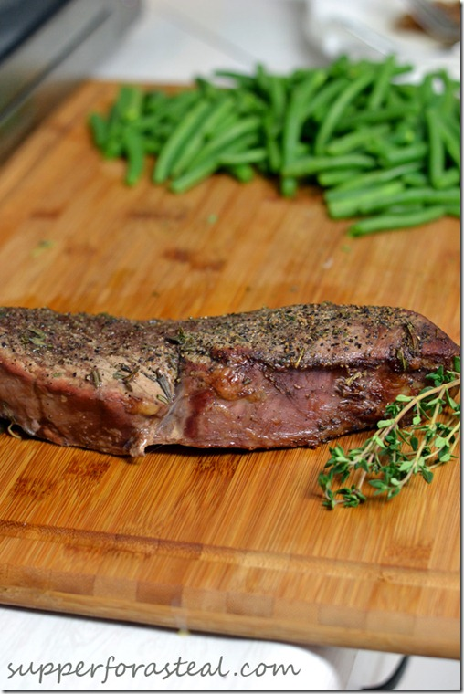 Herb Roasted Beef - Supper for a Steal