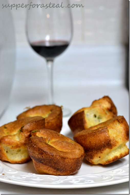 Herbed Yorkshire Puddings -- Supper for a Steal