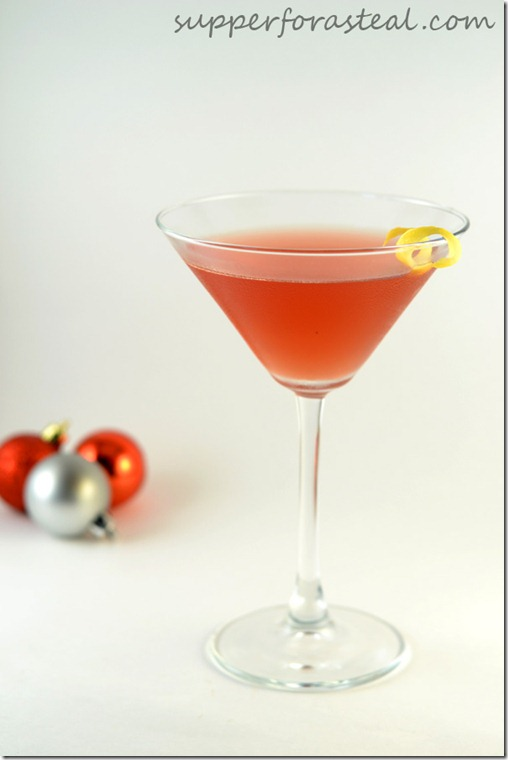 Pomegranate Cosmo - Supper for a Seal