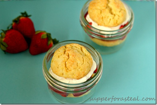 Strawberry Shortcake -- Supper for a Steal