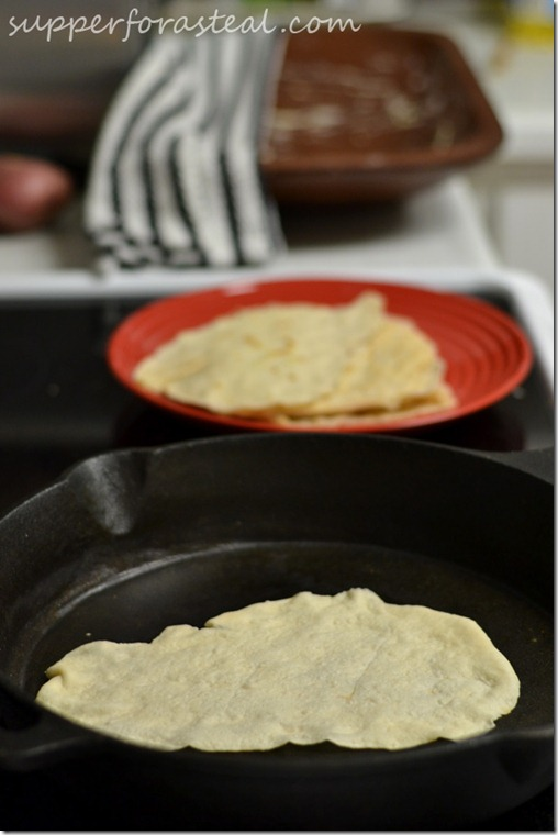 Homemade Tortillas -- Supper for a Steal
