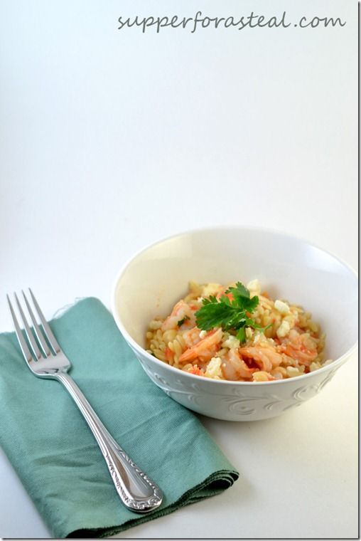 Shrimp and Orzo - Supper for a Steal