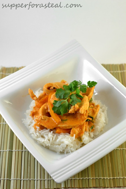 Thai Red Curry ChickenSupper for a Steal