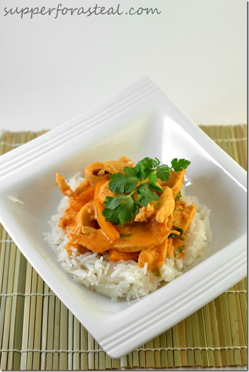 Thai Red Curry Chicken - Supper for a Steal