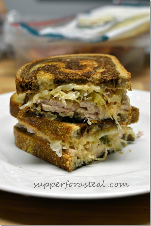Turkey Reuben - Supper for a Steal