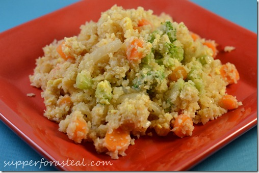 Cauliflower Fried Rice - Supper for a Steal