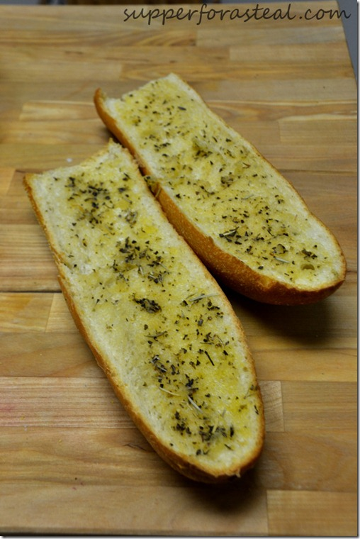 Easy Garlic Bread - Supper for a Steal