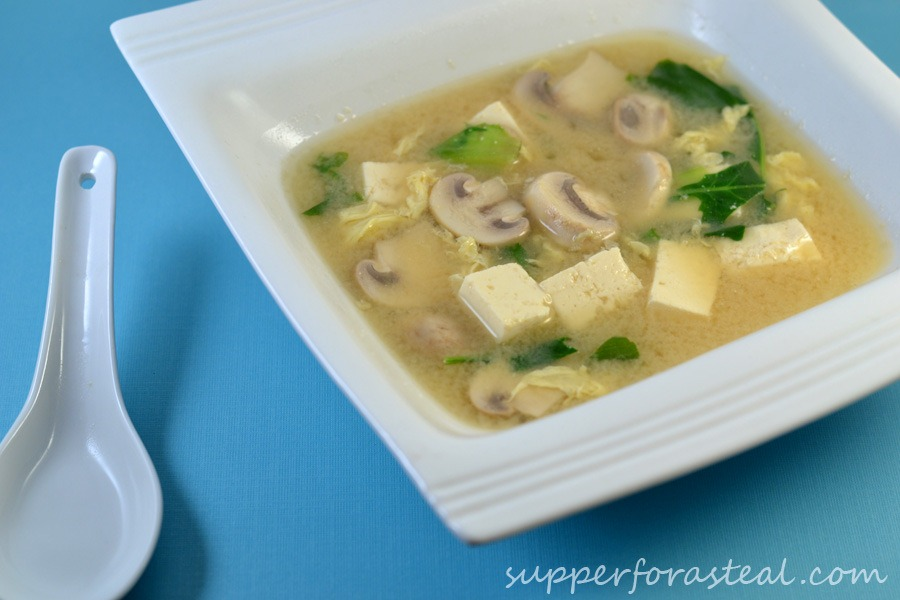 mushroom miso soup steamy kitchen recipes tofu and mushroom miso soup ...