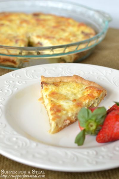 Quiche Lorraine - Supper for a Steal