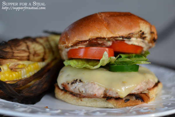 Jalapeno Turkey Burger - Supper for a Steal