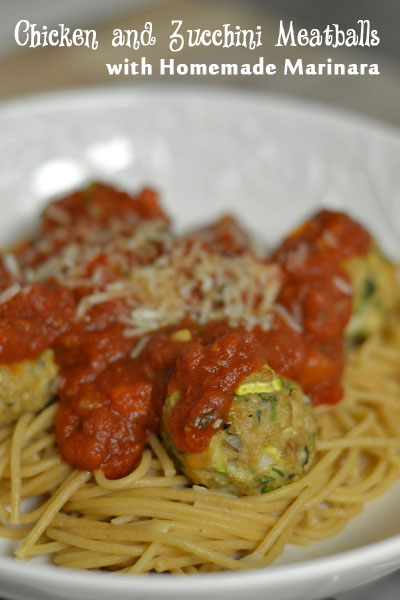 Chicken and Zucchini Meatballs - Supper for a Steal