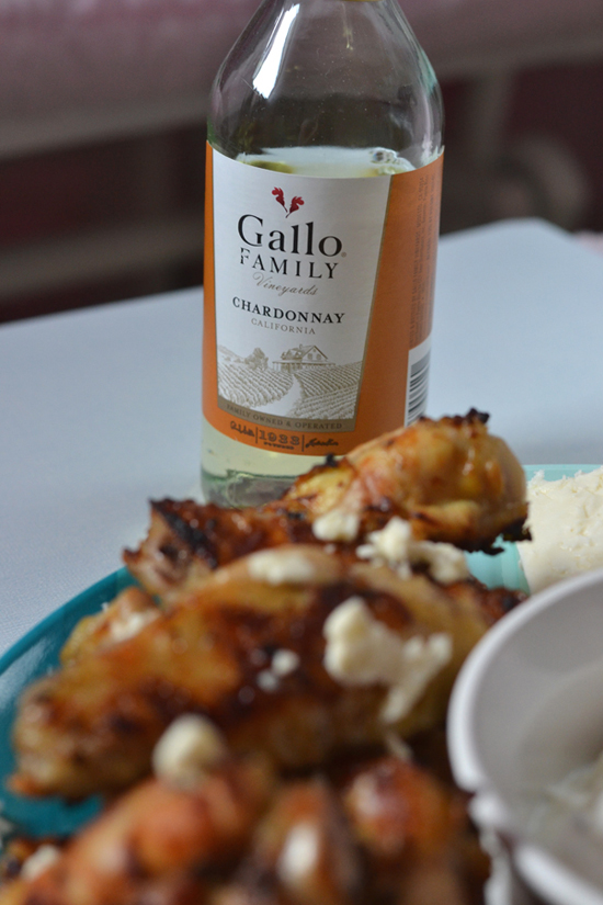 Greek Marinated Chicken Wings with GFV